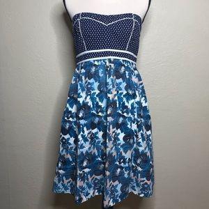 Kimchi Blue | Retro Strapless Dress